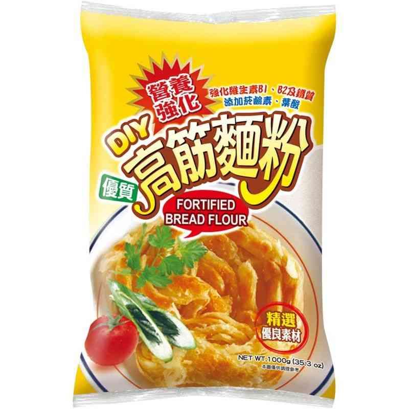 日正高筋麵粉1kg