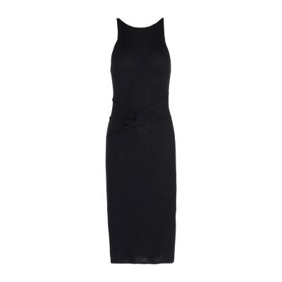 ピンコ PINKO 7分丈ワンピース・ドレス ブラック XS レーヨン 87% / ポリエステル 13% 7分丈ワンピース・ドレス