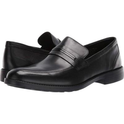 ボストニアン Bostonian メンズ ローファー シューズ・靴 Birkett Way Black Leather