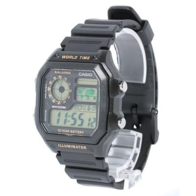 【Watch collection】 スクエアワールドタイム ユニセックス ゴールド F Watch collection