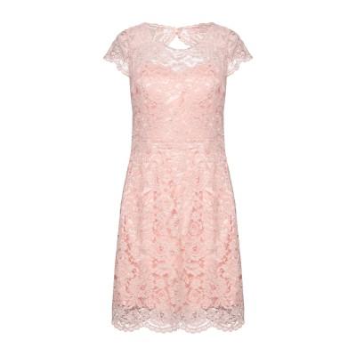 BY MALINA ミニワンピース&ドレス パステルピンク L ナイロン 70% / レーヨン 30% ミニワンピース&ドレス