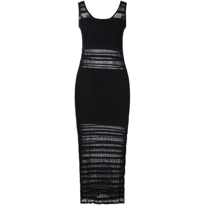 ポーツ 1961 PORTS 1961 7分丈ワンピース・ドレス ブラック XS コットン 82% / ナイロン 18% 7分丈ワンピース・ドレス