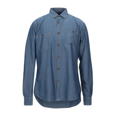 LIBERTY ROSE シャツ ブルー 43 コットン 100% シャツ