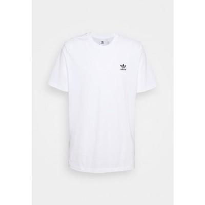 アディダス メンズ ファッション ESSENTIAL TEE - Basic T-shirt - white