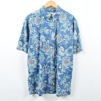 レインスプーナー ハワイアンアロハシャツ メンズXL /eaa036286