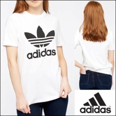 adidas(アディダス) TREFOIL TEE CV9889 ロゴ Tシャツ
