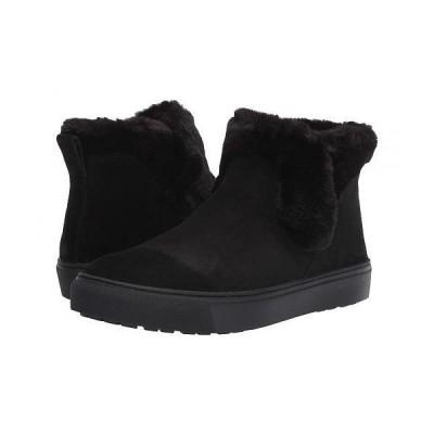 Cougar クーガー レディース 女性用 シューズ 靴 ブーツ スタイルブーツ アンクル ショートブーツ Duffy Waterproof - Black Suede
