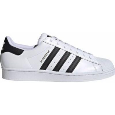 アディダス メンズ スニーカー シューズ adidas Originals Men's Superstar Shoes White/White/Black