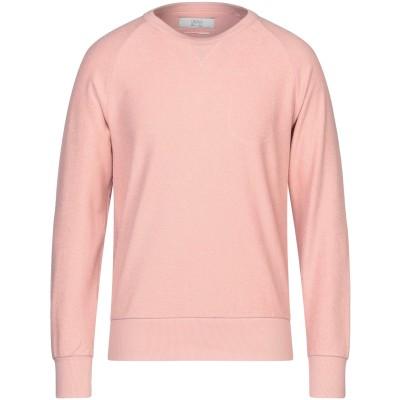 クルーナ CRUNA スウェットシャツ ピンク M コットン 100% スウェットシャツ