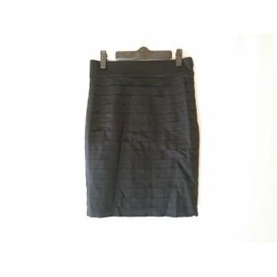 ミューズデドゥーズィエムクラス MUSE de DEUXIEME CLASSE スカート サイズ36 S レディース 黒 ティアード【中古】