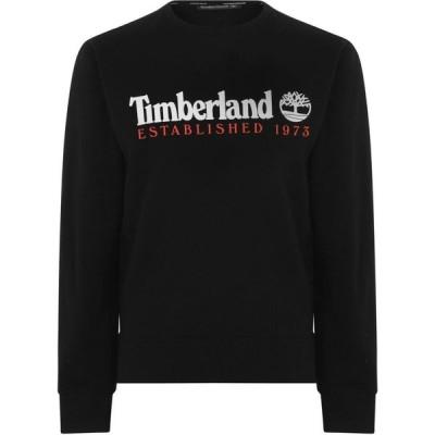 ティンバーランド Timberland メンズ スウェット・トレーナー トップス Established Sweatshirt Black