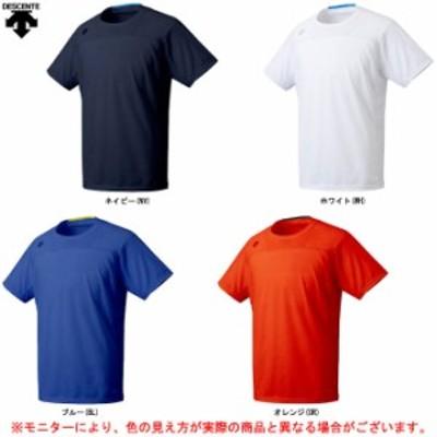 DESCENTE(デサント)Tシャツ(DMMOJA51)スポーツ トレーニング フィットネス ジムウェア ランニング Tシャツ 半袖 吸汗速乾 男性用 メ