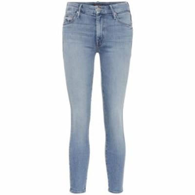 マザー Mother レディース ジーンズ・デニム ボトムス・パンツ The Looker high-rise skinny jeans A Side Of Rice/Beans