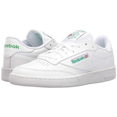 リーボック Club C 85 メンズ スニーカー 靴 シューズ Int/White/Green