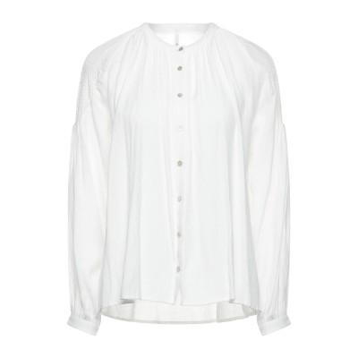 ペペ ジーンズ PEPE JEANS シャツ ホワイト S ポリエステル 53% / レーヨン 47% シャツ