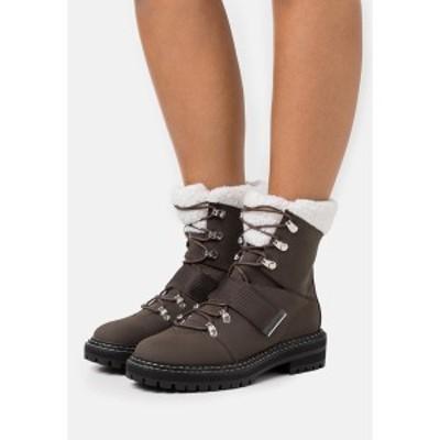 エブンアンドオッド レディース ブーツ&レインブーツ シューズ Winter boots - dark brown dark brown