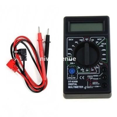LCDデジタル DT-830 B電気電圧計 電流計オームテスター デジタルマルチメーター
