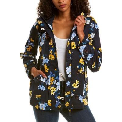 ジュールズ ジャケット&ブルゾン アウター レディース Joules Coast Print Jacket navy floral bouquet