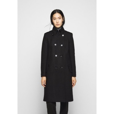 ドライコーン コート レディース アウター HARLESTON - Classic coat - black