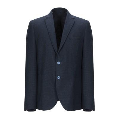 ANTONIONI Milano テーラードジャケット ダークブルー 54 ナイロン 70% / ウール 15% / レーヨン 15% テーラードジ