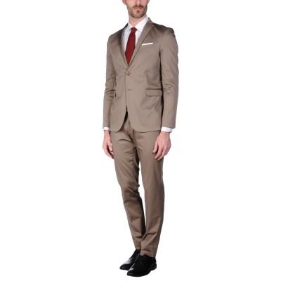 YES ZEE by ESSENZA スーツ カーキ 44 コットン 97% / ポリウレタン 3% スーツ