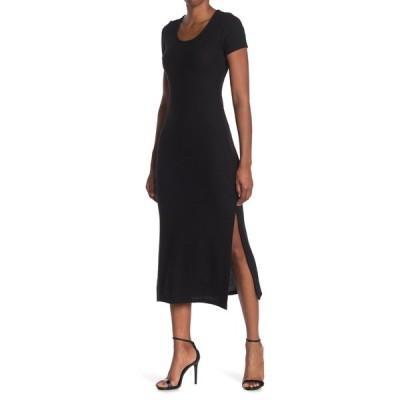 ベルベットトーチ レディース ワンピース トップス Cap Sleeve Midi Dress BLACK