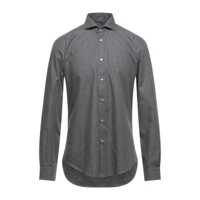 ブライアン デールズ BRIAN DALES シャツ グレー 38 コットン 100% シャツ