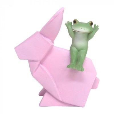 Copeau(コポー) 折り紙ウサギとカエル  72672 キャンセル返品不可 【出荷グループ A】他の商品と同梱制限有