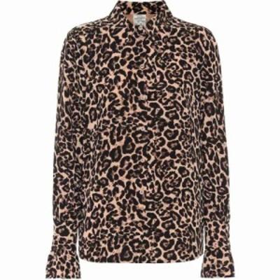 バウム ウンド ヘルガーデン Baum und Pferdgarten レディース ブラウス・シャツ トップス Macy leopard-print shirt Natural Leopard