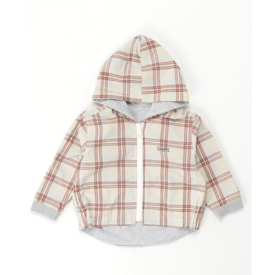 SHIPS KIDS / REV ZIP HOODED KIDS トップス > パーカー