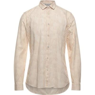 センス SSEINSE メンズ シャツ トップス striped shirt Beige
