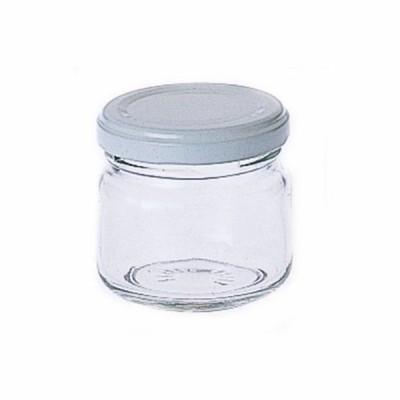 【在庫限り】東洋佐々木ガラス ジャム瓶90 ホワイト 90