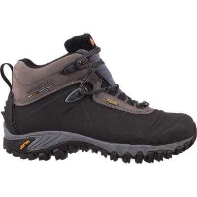 """メレル ブーツ&レインブーツ シューズ メンズ Merrell Men's Thermo 6"""" 200g Waterproof Winter Boots Black"""