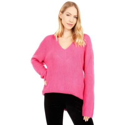 ラッキーブランド レディース ニット・セーター アウター V-Neck Pullover Sweater
