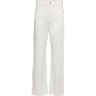 ドリス ヴァン ノッテン Dries Van Noten レディース ジーンズ・デニム ボトムス・パンツ mid-rise straight jeans White