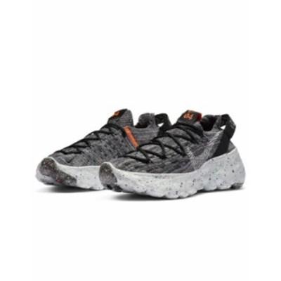 ナイキ レディース スニーカー シューズ Nike Space Hippie 04 Flyknit sneakers in gray Iron gray
