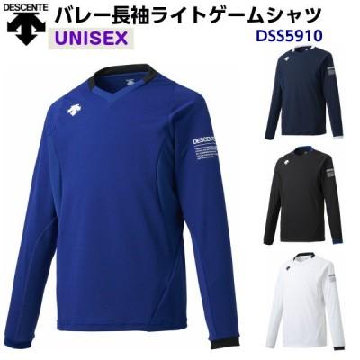 デサント (DSS5910) バレーボール 長袖 ライトゲームシャツ ユニセックス (M)