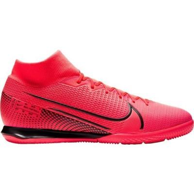 ナイキ シューズ レディース サッカー Nike Mercurial Superfly 7 Academy Indoor Soccer Shoes Red/Black