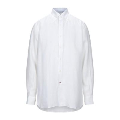 CÀRREL シャツ ホワイト 45 リネン 100% シャツ