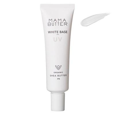 MAMA BUTTER(ママバター) ホワイトベースUV 〈ラベンダー&ゼラニウムの香り〉 30g SPF50・PA+++