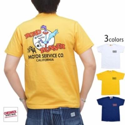 ROAD RUNNER半袖Tシャツ「RR MOTOR SERVICE」 Cheswick CH78502 チェスウィック ロードランナー アメコミ