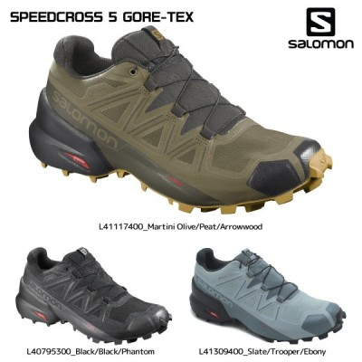 SALOMON(サロモン)【2021/トレイルランニング/限定】 SPEEDCROSS 5 GORE-TEX(スピードクロス5 ゴアテックス)【トレイルランニングシューズ】