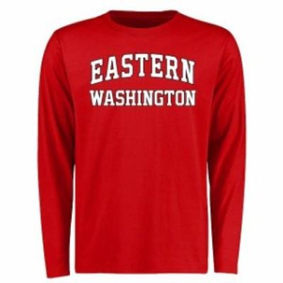 Fanatics Branded ファナティクス ブランド スポーツ用品  Eastern Washington Eagles Red Everyday Long Sleeve T-Shi
