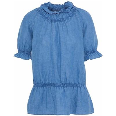 M.I.H JEANS デニムシャツ ブルー XS リネン 51% / コットン 49% デニムシャツ