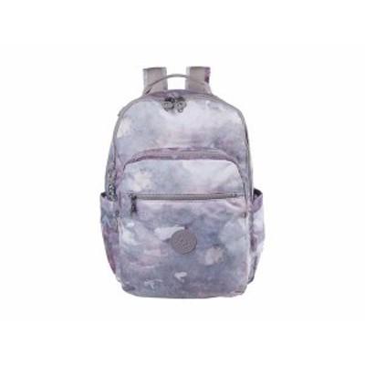 キプリング レディース バックパック・リュックサック バッグ Seoul Laptop Backpack Canyon Mist