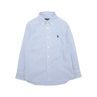 ラルフローレン RALPH LAUREN シャツ ブルー 6 コットン 100% シャツ