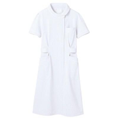 住商モンブラン住商モンブラン ナースワンピース(半袖) 医療白衣 白 M 73-1472(直送品)