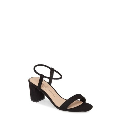 チャイニーズランドリー CHINESE LAUNDRY レディース サンダル・ミュール シューズ・靴 Yummy Sandal Black Suede