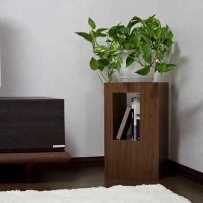 サイドテーブル ボックス ブラウン ブラック ホワイト