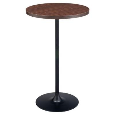 カウンターテーブル ハイテーブル カフェテーブル 1本脚 丸 テーブル サイドテーブル 木目 NA table 幅60cm
